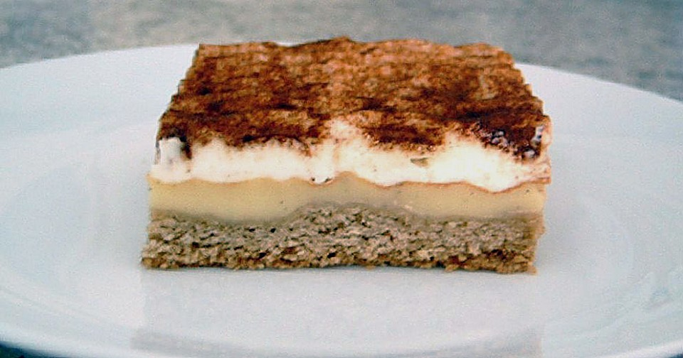 schmand pudding kuchen rezept mit bild von monarisa. Black Bedroom Furniture Sets. Home Design Ideas