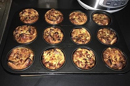 Zwiebelkuchen - Muffins 4