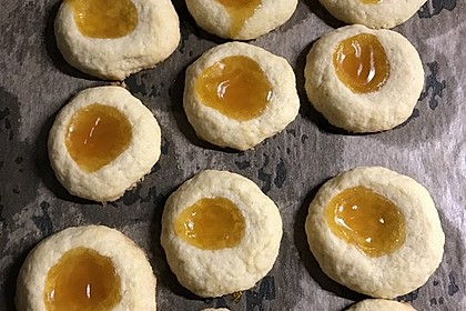 Plätzchen mit Marmelade 2