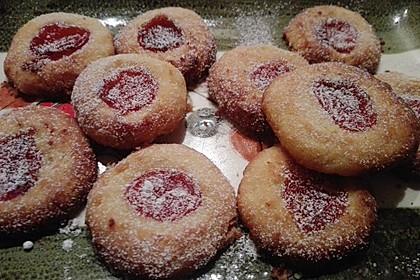 Plätzchen mit Marmelade 3