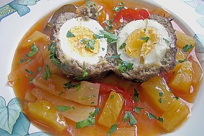 Eierspieße in der Fleischhülle 2