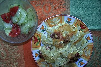 Zucchini - Auflauf 2