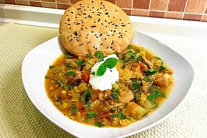 Gemüse - Kartoffel - Tajine mit Harissa 0