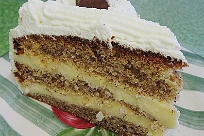 Nuss - Pudding Torte 4