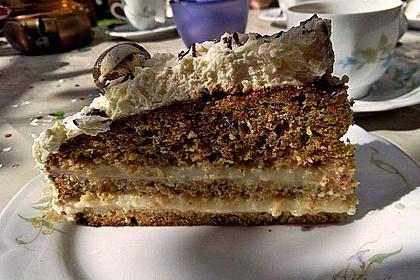 Nuss - Pudding Torte 8