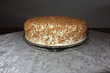 Nuss - Pudding Torte 14