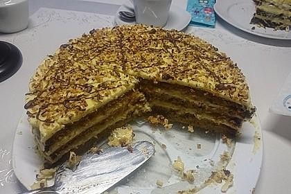 Nuss - Pudding Torte 7