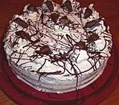 Nuss - Pudding Torte