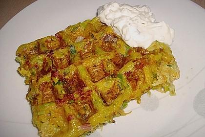 Kartoffel - Gemüse Waffeln 8