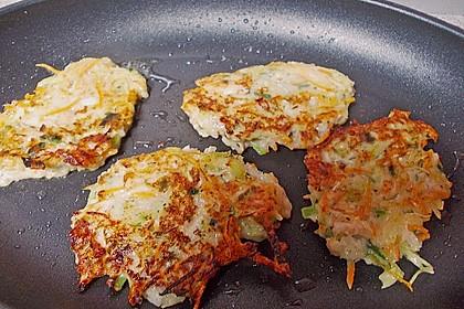 Kartoffel - Gemüse Waffeln 13
