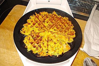 Kartoffel - Gemüse Waffeln 12