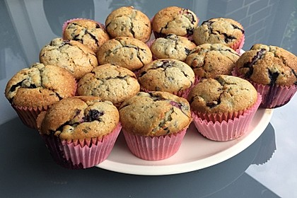 The best blueberry Muffins 6