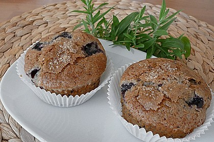 The best blueberry Muffins 11