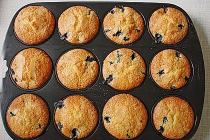 The best blueberry Muffins 40