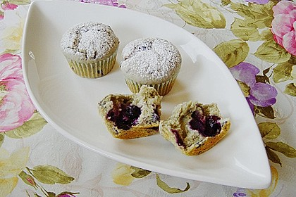 The best blueberry Muffins 17