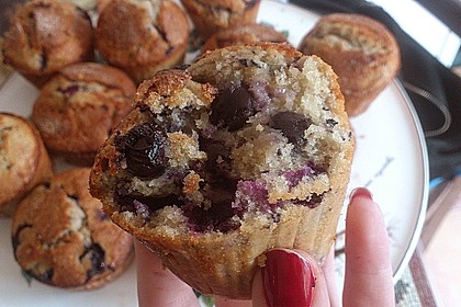 The best blueberry Muffins 44