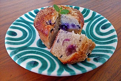 The best blueberry Muffins 7