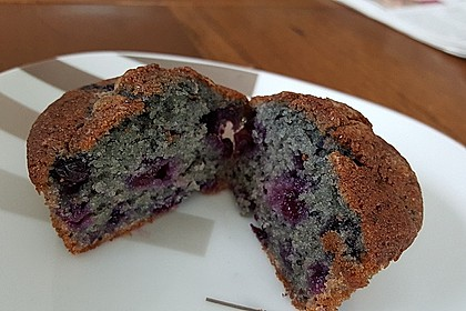 The best blueberry Muffins 25