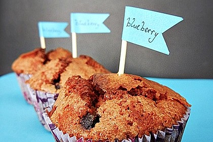 The best blueberry Muffins 1