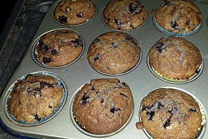 The best blueberry Muffins 26