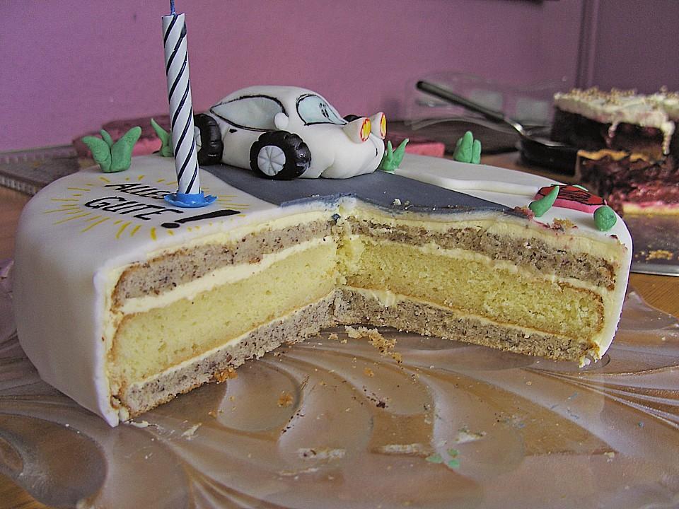Apfel - Buttercreme - Torte von Bärchenmama | Chefkoch.de