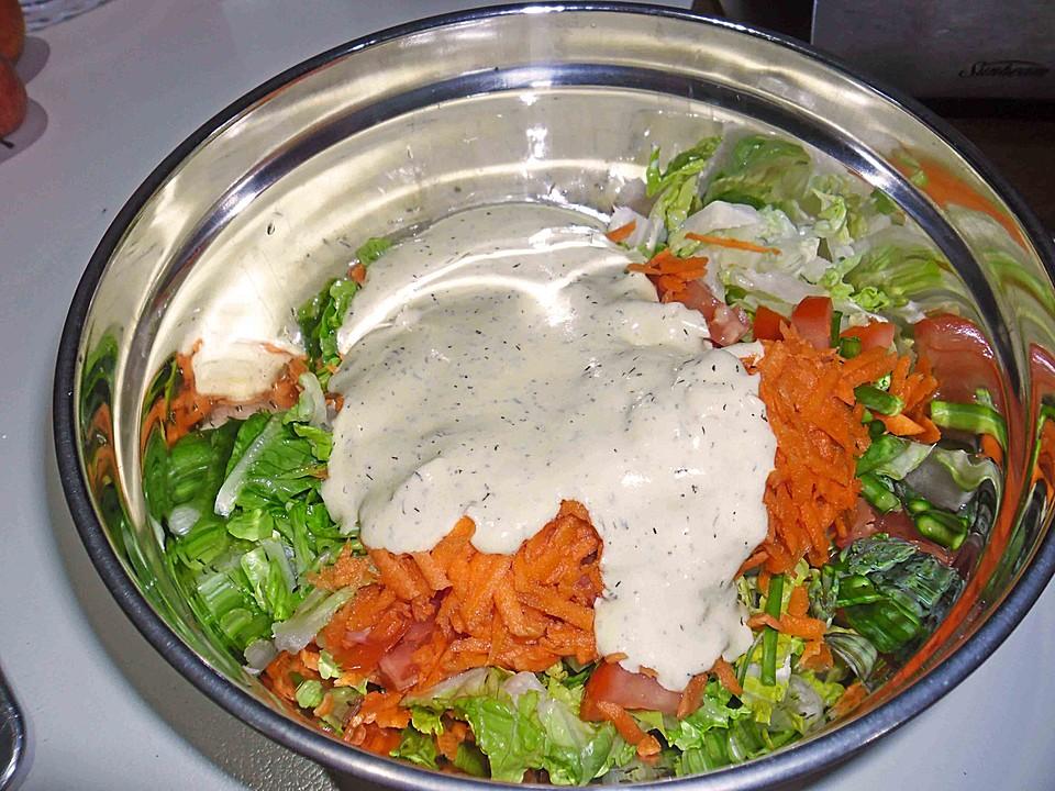 schnelle einfache salatsauce mit joghurt rezept mit bild. Black Bedroom Furniture Sets. Home Design Ideas