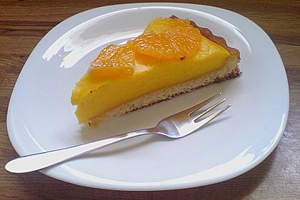 Aromatische Orangencurd - Torte