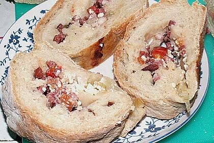 Sommerlicher Brotkranz 21