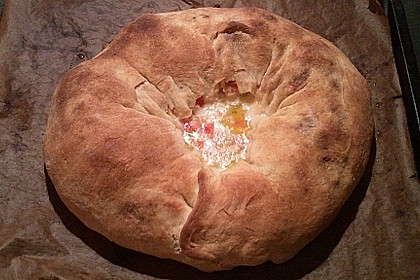 Sommerlicher Brotkranz 25