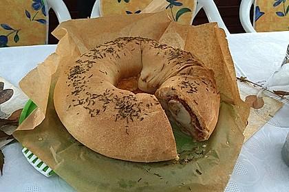Sommerlicher Brotkranz 5