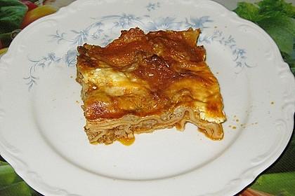 Béchamel-Hackfleisch-Lasagne 8