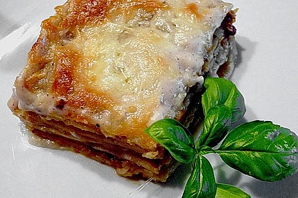 Béchamel-Hackfleisch-Lasagne