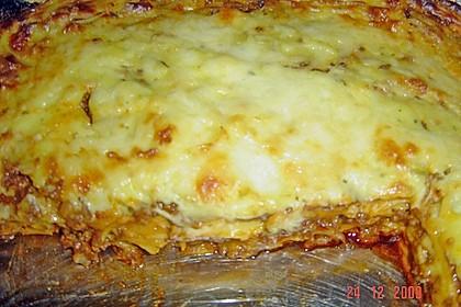 Béchamel-Hackfleisch-Lasagne 112