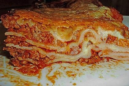 Béchamel-Hackfleisch-Lasagne 34