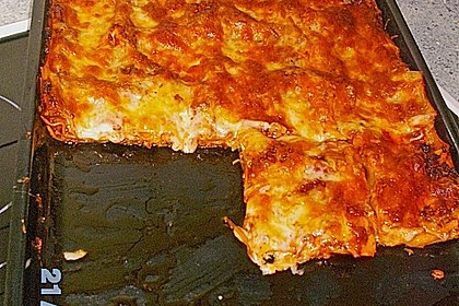Béchamel-Hackfleisch-Lasagne 106