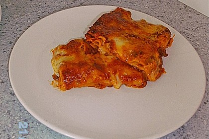 Béchamel-Hackfleisch-Lasagne 83