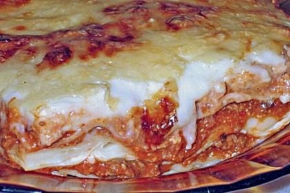 Béchamel-Hackfleisch-Lasagne 10