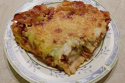 Béchamel-Hackfleisch-Lasagne 61