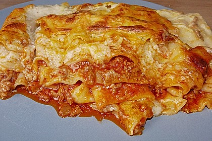Béchamel-Hackfleisch-Lasagne 12