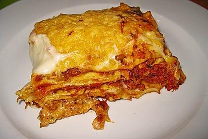 Béchamel-Hackfleisch-Lasagne 7