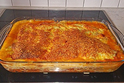 Béchamel-Hackfleisch-Lasagne 43