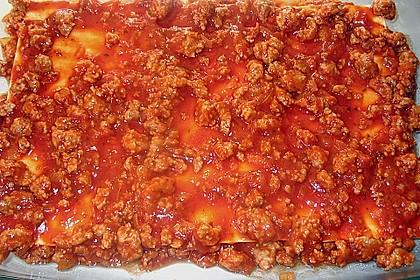 Béchamel-Hackfleisch-Lasagne 17
