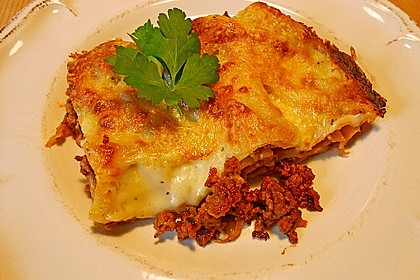 Béchamel-Hackfleisch-Lasagne 4