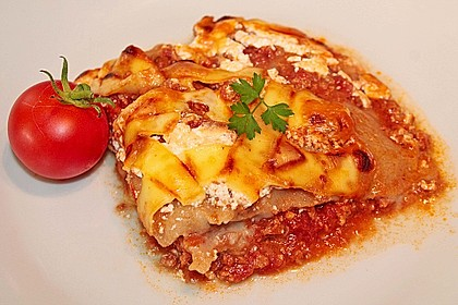 Béchamel-Hackfleisch-Lasagne 11