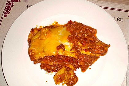 Béchamel-Hackfleisch-Lasagne 81