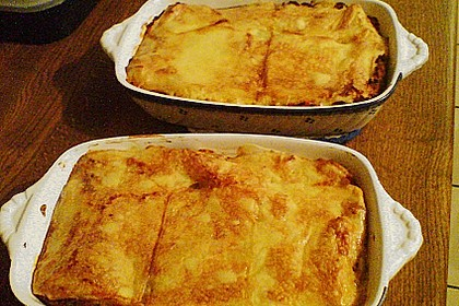 Béchamel-Hackfleisch-Lasagne 46