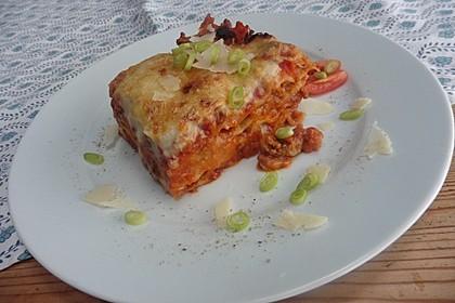 Béchamel-Hackfleisch-Lasagne 14