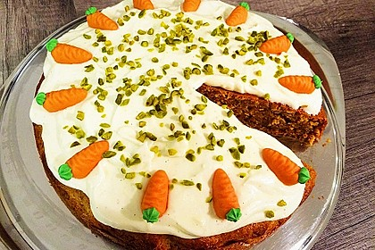 Delicious Cream Cheese Carrot Cake