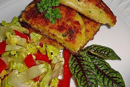 Romadurküchle auf Salat 1