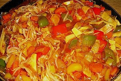 China - Gemüse - Pfanne 1